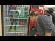 How to get free pop from a vending machine