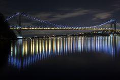 George Washington Bridge at Night by David Budnick on 500px