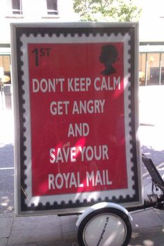 Save our Royal Mail from privatisation before its too late!