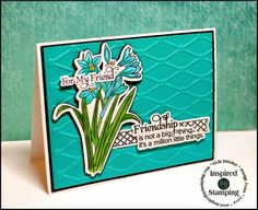 All I Do Is Stamp-- Designs by Vicki Dutcher: Inspired By Stamping & Seize the Sketch Friend Friendship, Friends Forever, Little Things, Stamping, Card Making, Sketch, Inspired, Cards, Design