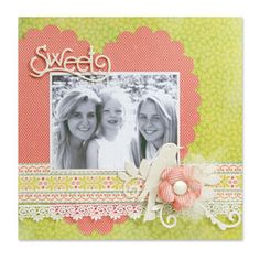 Sweet Scrapbook Page #2