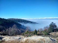 Foggy Mountain Vodno Republic Of Macedonia