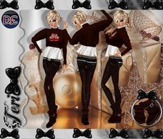 ✿ ¸. • * ¨ * • ☆Just out of Peer!☆ ¸. • * ¨* • ✿  ✮GINGERBREAD JEANS BUNDLE: http://www.imvu.com/shop/product.php?products_id=27654672  *Comes with sweater, jeans and ugg boots..  **Hair available in dirty blonde.  ✿My Full Catty: http://www.imvu.com/shop/web_search.php?manufacturers_id=95572994  ✿☆ ¸. • * ¨ * • ☆Just out of Peer ☆ ¸. • * ¨* • ☆✿
