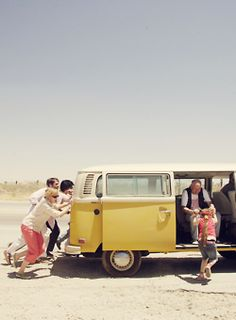 road trips (and Little Miss Sunshine!)