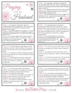 Prayer for my Husband