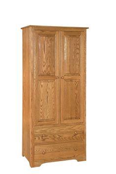 armoire wardrobe | Amish Shaker Armoire Wardrobe
