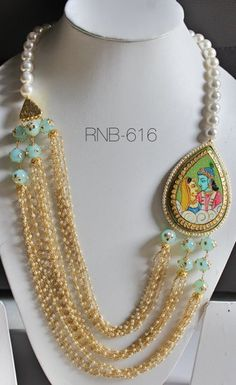 Rock N Beads Info & Review | Jewellery in Delhi | Wedmegood. Krishna and radha in jewellery piece