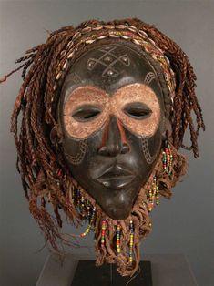 Art africain - Masque Chokwe Pwo