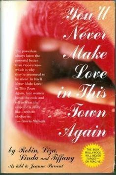 You'll Never Make Love in This Town Again by Terrie Maxine Frankel et al., http://www.amazon.com/dp/0787104043/ref=cm_sw_r_pi_dp_ufLKtb1ERE2S0