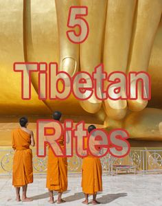 The Five Tibetan Rites are also known as The Five Tibetans, The Five Rites or The Five Rites of Rejuvenation. The story has it that Colonel Bradford, a British army officer stationed in India, was introduced to them by a group of lamas. According to the lamas, the seven energy vortices in our body (chakras) need to spin at a certain rate for us to stay healthy and well.