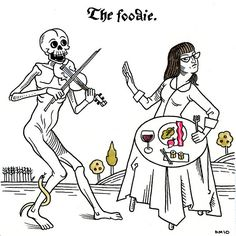 Danse Macabre: The Foodie. by quirkybird, via Flickr