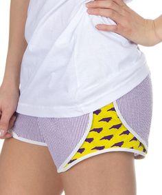 Purple North Carolina Seersucker Shorts