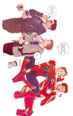 Tony & Peter || Avengers Infinity War || Iron-Man & Spider-Man || Cr: two_x2