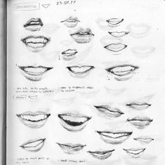 30+ How to Draw Lips for Beginners - Step By Step