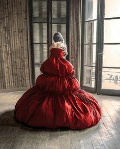 Haute couture dress  Designer Eudoxia Glunatsi