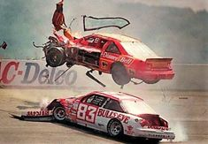 Lake Speed and Green Sachs crash Nascar Crash, Nascar Race Cars, Nascar Wrecks, Funny Vine Compilation, Animal Fails, Daytona 500, Dashcam, Race Day, Vintage Racing