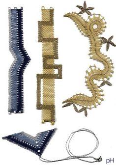 Bobbin Lacemaking, Lace Bracelet, Lace Jewelry, Needle Lace, Lace Design, Handmade Crafts, Pattern, Bobbin Lace, Hairpin