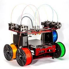 printer design printer projects printer diy Daily Printing Tips Daily Printing Tips A Five-Extruder Printer - With No Name Color 3d Printer, Desktop 3d Printer, Best 3d Printer, 3d Printing Business, 3d Printing Service, Impression 3d, Arduino, 3d Printing Machine, Cnc Machine