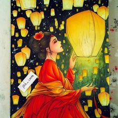 Finally done! #colouringbook #adultcolouringbook #colouringbookforadults #colouringforgrownups #coloring #colouring #illustration #instagramart #skylatern #lunar #lunarnewyear #chinesenewyear #latern #chinese #chineseart #chinesestyle #chineseancient #chinesetradition #antiquity #chinesecoloringbook #chinesecolouringbook #浮生赋 #古风画 #古风 #彩铅 #著色本 #畫 #涂色 #孔明灯 #农历新年