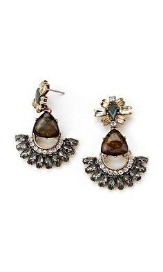 Chloe Earrings in Black Diamond Illume