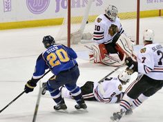 MVP - 3. St. Louis Blues forward Alex Steen was tied for the league lead with 10 goals. Points: 25. First-place votes: 1