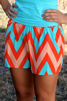 Cute website for trendy and affordable clothing! Chevron shorts :)