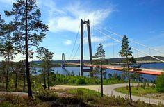 Turistväg Höga Kusten Semester, Scandinavian Countries, Holiday Travel, Golden Gate Bridge, Finland, Denmark, Norway, Road Trip, Holidays