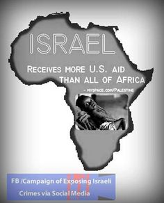 Israel's per capita GDP is 25th best in the entire world. Instead of providing food, water, shelter, schools, and healthcare for millions of poverty-stricken Africans, we're providing middle class Israelis with upgraded cell phone plans, kitchen remodels, and backseat DVD players for their SUVs.