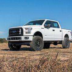 ford-f150-4-inch-lift-3 Dodge Trucks, Jeep Truck, 4x4 Trucks, Lifted Trucks, Cool Trucks, Ford F150 Fx4, F150 Lifted, Lifted Dodge, Future Ford