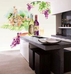 Tuscany-wine Tuscany, Table Decorations, Evo, Elegant, Luxury, Walls, Design Ideas, Inspiration, Homes