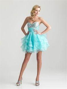 Not the style but the color is perfect for my homecoming dress
