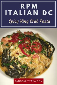 Check out my must have Item from RPM Italian DC. And it's not a pasta dish http://randomlyyaya.com/rpm-italian-dc/ #foodie #dc