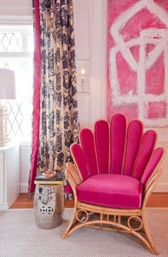 Mad for Magenta Monday / The English Room Blog