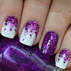 awesome 16 Beautiful Glitter Nail Designs - fashionsy.com