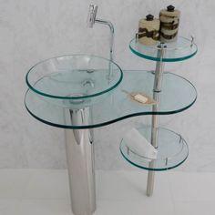 Gabinete para Banheiro de Vidro fotos 570x570 Gabinete para Banheiro de Vidro