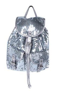 Sparkles Back Pack Victoria's Secret Found here: http://m.debshops.com/on/demandware.store/Sites-DebShops-Site/default/mProduct-Show?pid=1000033543_1000033543_color=010=1=3728