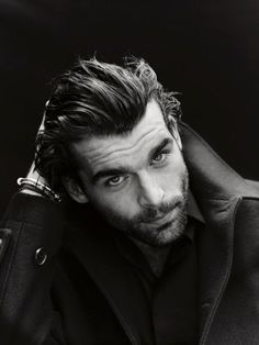 Oh, hi Stanley.  Stanley Weber In Christian Dior Coat | Men, beards and fashion