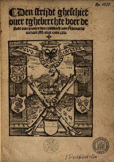 Den strijdt gheschiet over tgheberchte voer de stadt van Pavye den xxiiij ... - 1525