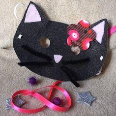 Kit loisirs créatifs masque chat