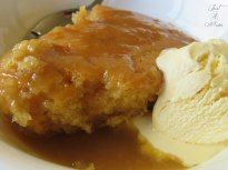Self-Saucing Pudding Delicious winter warming dessert. This butterscotch pudding is so easy to make and the perfect comfort food with a self saucing finish!With With or WITH may refer to: Just Desserts, Delicious Desserts, Dessert Recipes, Dessert Ideas, Simple Dessert, Winter Desserts, Yummy Food, Quick Puddings, Puddings