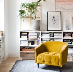 10 Marvelous Interior Designs With Yellow | Home Design Ideas