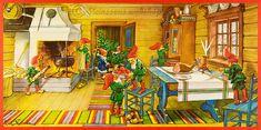 Steinssons,Kiiltäviä Valokuvia,scraps - joulua juliste Curt Nyström