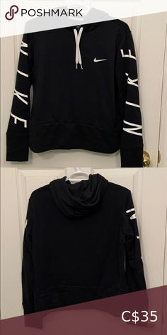 Dri-Fit Nike Hoodie Only worn a couple of times, in great condition! Nike Sweaters