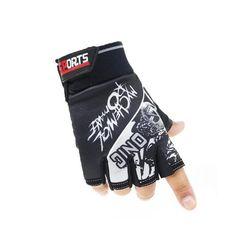 Skull Pattern Half Finger Cycling Gloves    https://www.skullflow.com/collections/skull-gloves/products/skull-pattern-cycling-gloves
