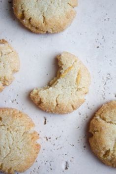 Sparkling Grapefruit Cookies {Gluten-Free} by Healthy Food For Living
