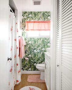 Peel and Stick Wallpaper in Krys Melo's Apartment Bathroom.jpg