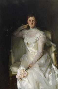 JOHN SINGER SARGENT: Mrs. Joshua Montgomery Sears (Sarah Choate Sears)
