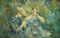 Berthe Morisot : la seule femme impressionniste - Culture - News fle en français facile - easy french reading !