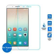 Huawei Honor 7i vidro temperado protetor de tela 2.5 9 h segurança película protetora sobre Honor7i ShotX edição Standard Premium ATH-AL00(China (Mainland))