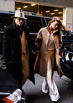 Johnny Depp & Amber Heard in NYC (April 24, 2014).